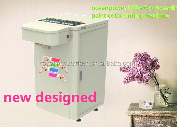Paint tinting machine color mixing machine paint mixer for Paint tinting machine