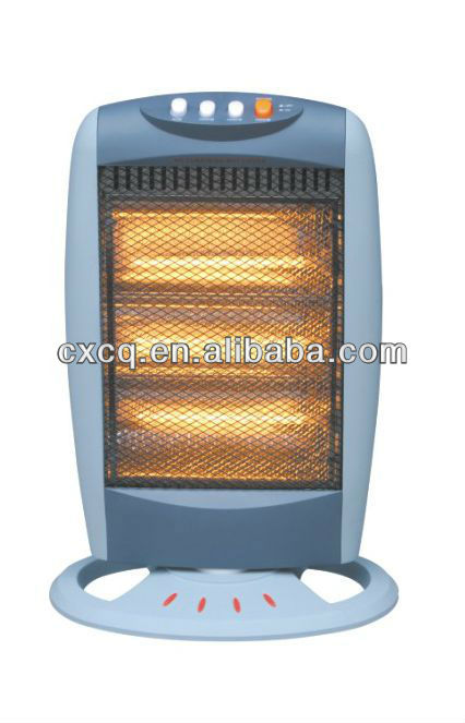 400W 800W 1200W small fashion convenient high efficiency energy saving silent running halogen heater
