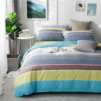 Professional Custom Hotel 100% Polyester Flat Sheet , Quilt Duvet Cover , Bed Linen With Pillow Case