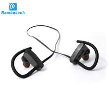 Sports Running Gym Bluetooth V4.1 Headset In-ear Earphones Wireless Headphones Mic for Android phone