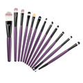 Sofeel Purple Color 12pcs Makeup Brushes for eyeshadow