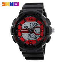 Wholesale Online 5atm Water Resistant Digital Sport Watches With EL Back Light