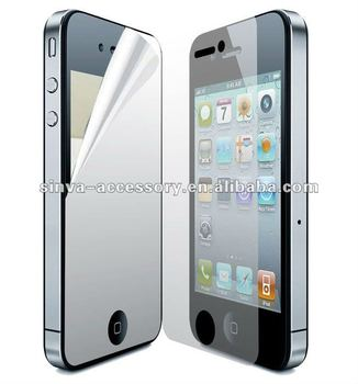 Cell phone mirrior screen protector for all iphones