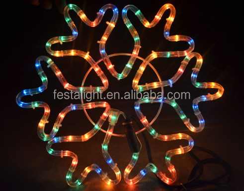 Manufacturers wholesale rope light led christmas motif light