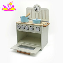EN71 Passed Hot Sale Kids Pretend Play Toy,Role play wooden pretend kitchen cooking toy for children W10C213