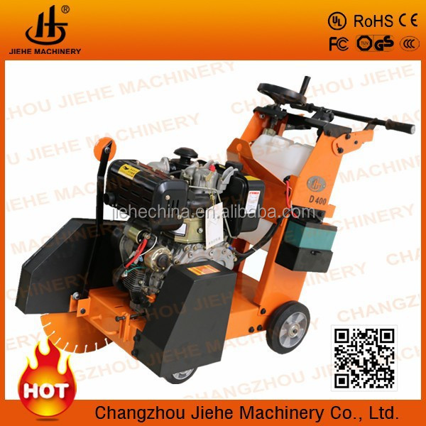 high cutting speed Diesel Road Concrete Cutter in China JHD400D