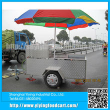 YY-HS200C new design food electric or gas operated hot dog cart