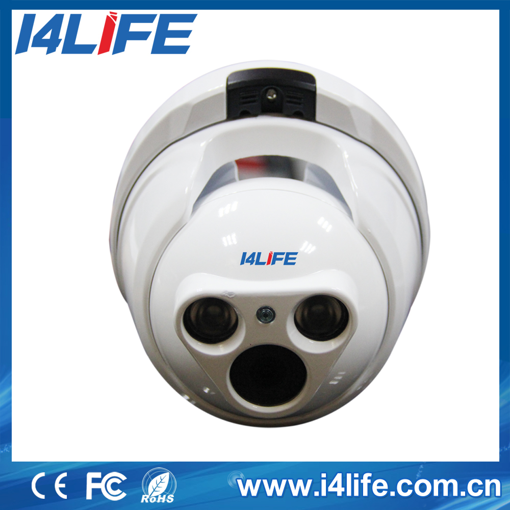 Low Cost CMOS Sensor Indoor Used Onvif P2P IP Dome Camera Specification