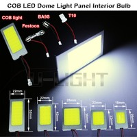 T10 Festoon BA9S COB 36 LED Panel Dome Xenon White Car Interior Light