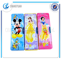Stationery wholesale cartoon characters multipupose Japanese pencil boxes for Disney