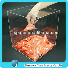 clear acrylic lottery box acrylic lucky box plexiglass display box wholesale