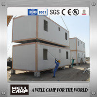 WELLCAMP supply two floor container home/expandable luxury container house
