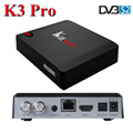 S912 KIII Pro DVB S2 T2 C 4k satellite receiver with DRM Widevine level 1