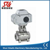 Exceptional 3pc iso 5211 mounting pad ball valve factory price