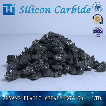 good quality metallurgical grade black silicon carbide for metal from direct factory