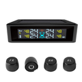 PA New Arrival Automotive Tire Pressure Monitor system external Digital Monitoring Wireless solor TPMS