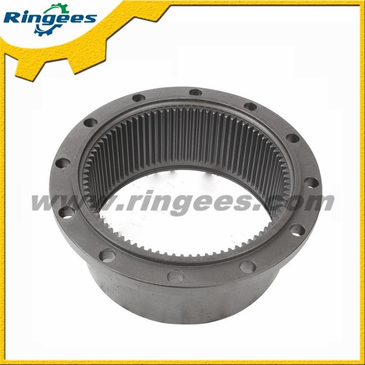 Top quality excavator parts swing gear ring / Swing reducer ring gear used for Komatsu PC40-7