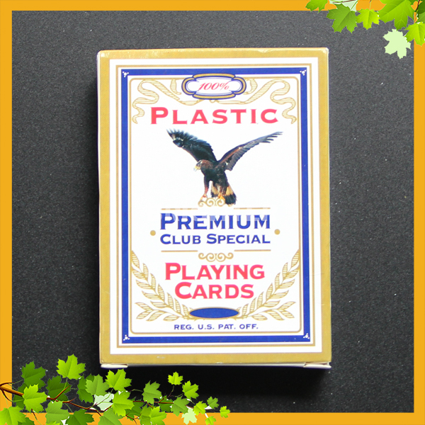 042 Premium Club Special 0.35mm thickness 100 Plastic Playing Cards Royal