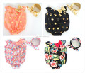 Baby Girl Ruffles Romper Boutique Toddler& Infant Summer Clothing Seaside Bella Baby Romper