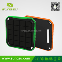 High portability and efficiency solar power charger kits, external battery solar mobile charger dustproof