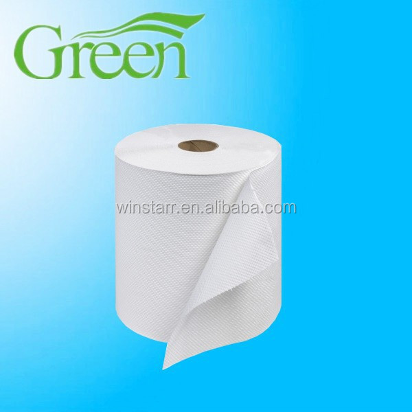 manufacture 1ply recycle hand Towel Roll paper