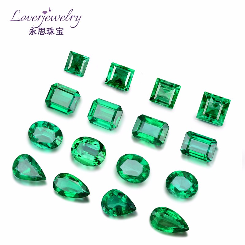 Custom design 2.0-3.0 Carat Emerald Cut zambia untreated emerald