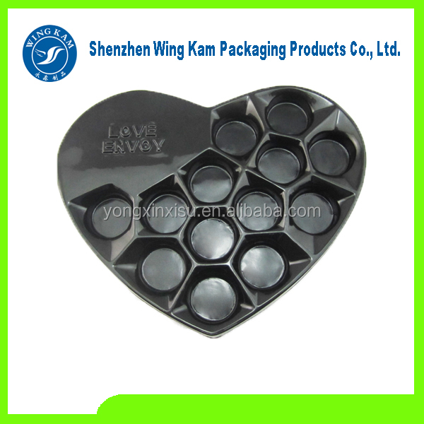 plastic chocolate tray vacuum forming packaging