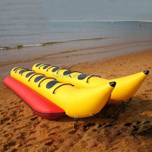 2016 New 3/5//7/ 8/10 Person Water Sled Inflatable Banana Boat