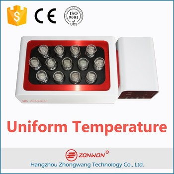Heating Equipment Maxmuim 150C 13 Samples Dissolving Hot Plate Magnetic Stirrer China