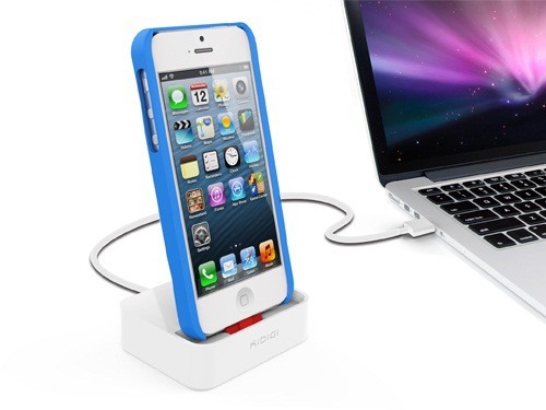 [Apple MFi Certified] KiDiGi Case Compatible Sync & Docking Station for iPhone 5/iPhone 5S/iPhone 5C/iPhone 6