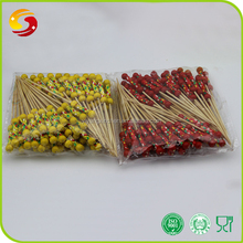 Hot sell custom bamboo flower knotted stick