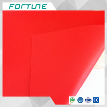colored pvc sheet plastic colorful red film used for rain coat electrical tape