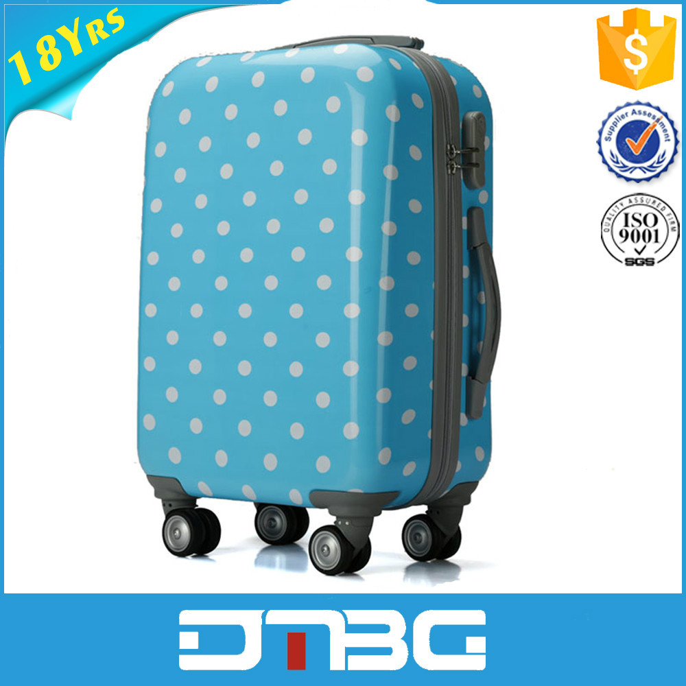 High Quality 20 inch ABS/PP ladies laptop trolley bag for travel
