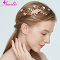 Enchanted Hair Clip Wedding Flower Glam Hair Claws Sweet Bridal Hair Clip Pearl Girl Dresses Princess Prom Little White Dresses