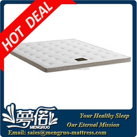 good sleeping single size memory foam massage mattress topper