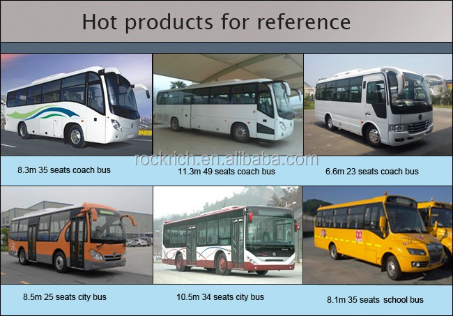 Best price 42 seats pure electric city bus