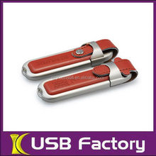 Top level professional leather 2tb usb flash drive