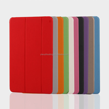 Smart Cover Colorful Ultra Slim PU Leather Transparent Front Back Case for iPad Mini mini 2 / 3 / 4 iPad 2 / 3 / 4 / Air / Air2