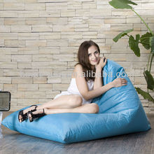Hot Selling Living Room Furniture Triangle Leisure Sofa Bean Bag
