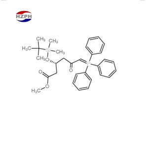 High-purity Methyl(3r)-3-(tert-butyldimethylsilyloxy)-5-oxo-6-triphenylphosphoranylidene hexannoate,CAS:147118-35-2