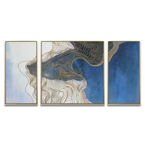 Wholesale 3 Panel Christmas Canvas Painting Wall Art