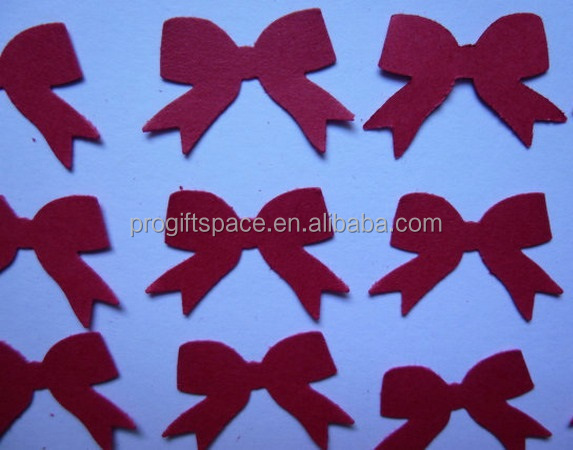Hot new best selling product fashion quality <strong>craft</strong> Red Bow Die Cuts decor diy scrapbook made in China