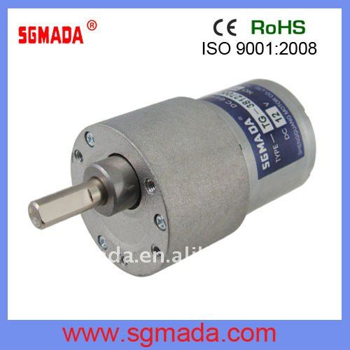 DC/AC high torque low rpm electric motor