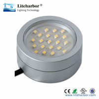 4w GX53 LED Surface mounted kitchen cabinet lights - White with CE UL Listed