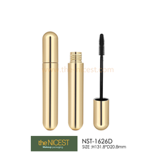 Empty cylinder metalizing plastic mascara tube for sale