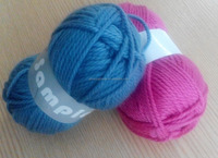 40% merino wool 60% acrylic, blend knitting yarn, soft yarn