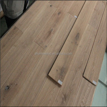 ABCD grade Antique oak engineered wood flooring ,2-5mm oak wood .10-20mm over all thickness