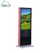 Touch Screen Android Floor Standing Lcd Advertising Panel