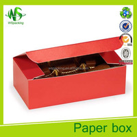 Brown truffle boxes food packing box paper cake box