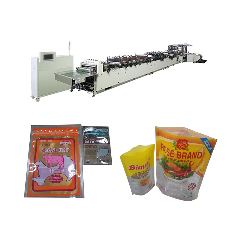 Plastic paper bag pouch making machines manufacturer